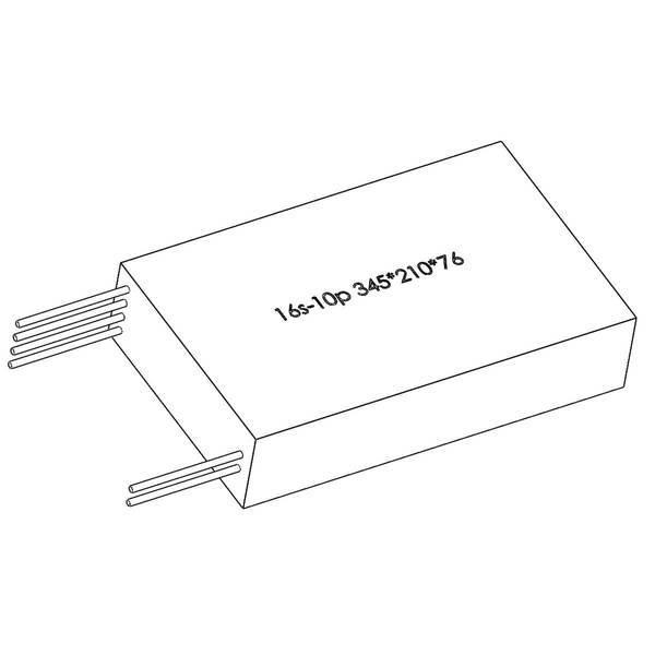 Batería Thunder Lithium Ion 60V 35AH LG 16S10P