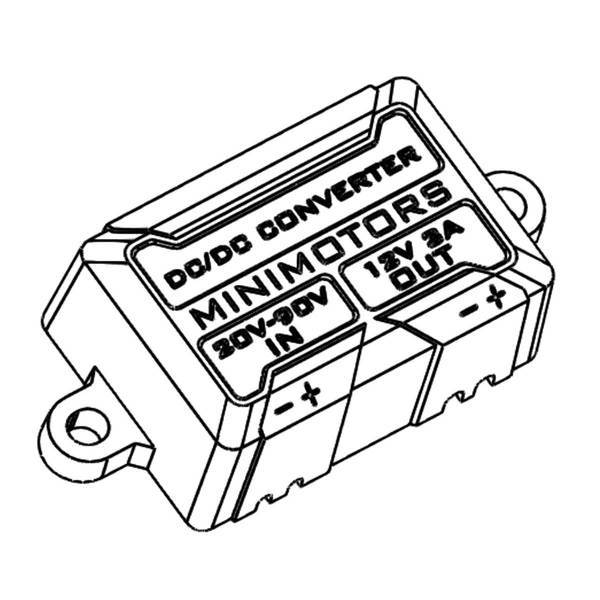 DC DC convertidor 3A for Dualtron Thunder/Ultra/DT X
