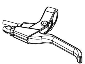 Maneta de freno con timbre Minimotors Dualtron Mini
