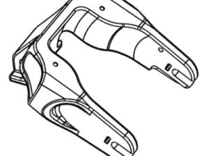 Brazo trasero de horquilla de suspensión para Minimotors Dualtron Mini